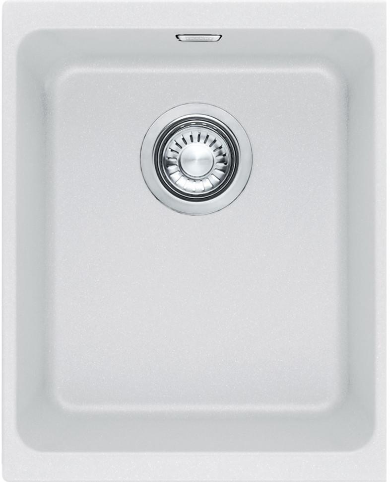 Кухонная мойка Franke Kubus KBG 110-34 белая 125.0176.651