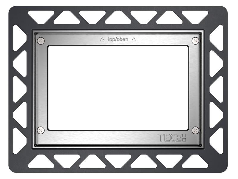 Монтажная рамка глянцевый хром Tece 9240644 монтажная рамка tece square 9240648