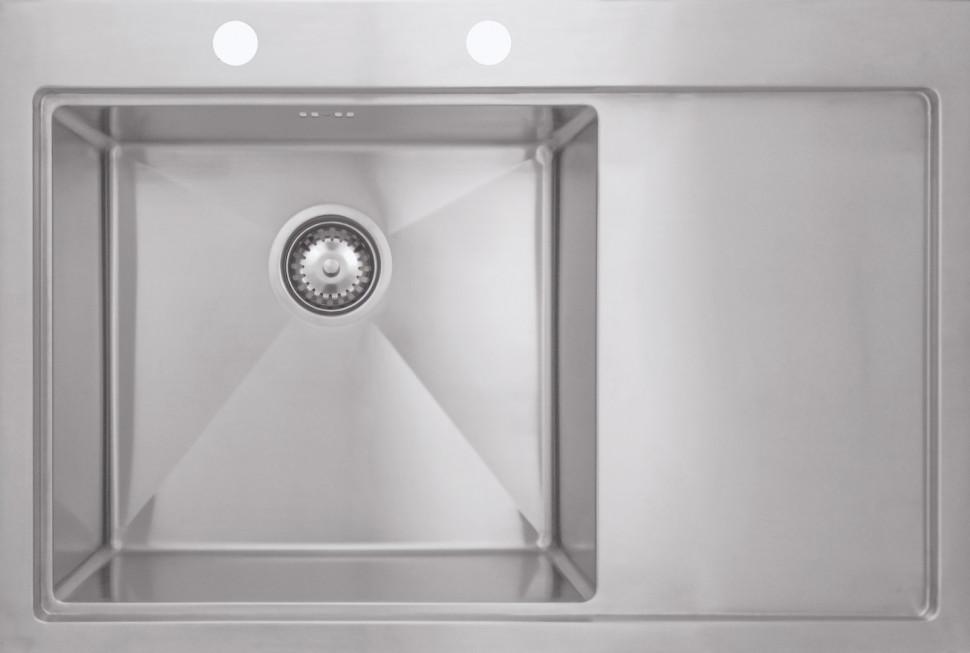 Кухонная мойка Seaman Eco Marino SMB7852RSKB+SSA