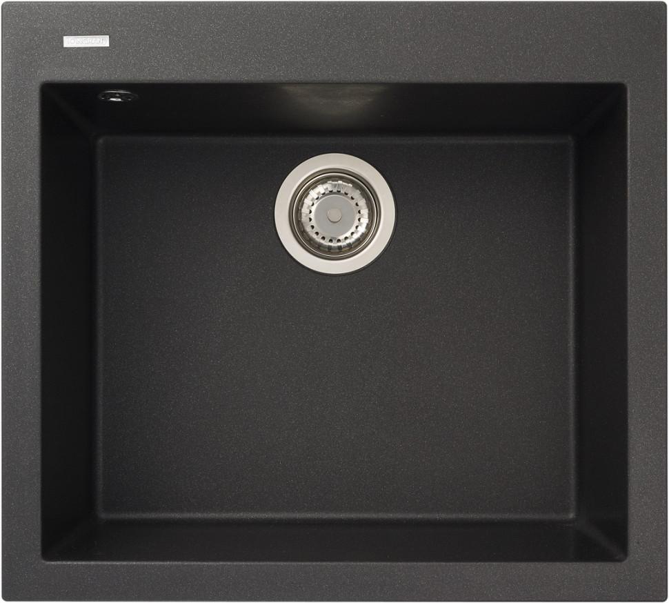 Кухонная мойка оникс Longran Cube CUG560.500 - 10 мойка longran ultra uls615 500 15 10 оникс