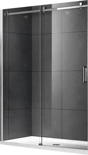 Душевая дверь 120 см Gemy Modern Gent S25191C прозрачное