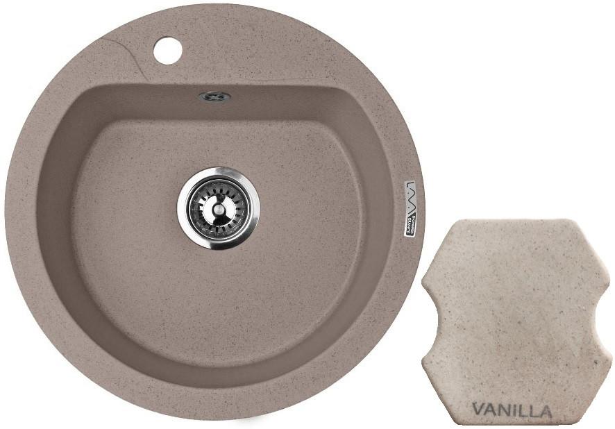 Кухонная мойка VANILLA Lava R3.VNL цены