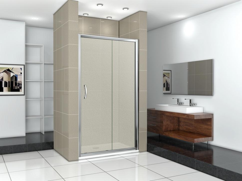 Душевая дверь 120 см Good Door Infinity WTW-120-G-CH grape