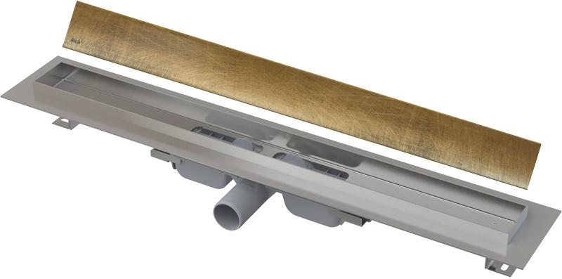 Душевой канал 644 мм античная бронза AlcaPlast APZ106 Design Antic APZ106-650 + DESIGN-650ANTIC душевой канал 744 мм alcaplast apz106 apz106 750