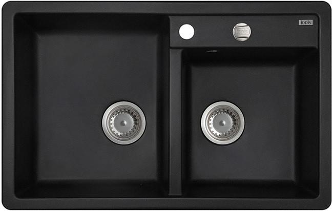 Кухонная мойка черный IDDIS Vane G V21B782I87