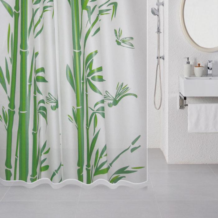 цена на Штора для ванной комнаты Milardo Bamboo 510V180M11
