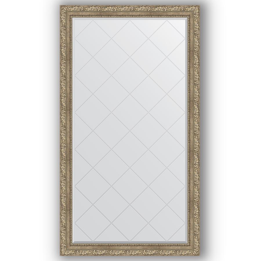Зеркало 95х170 см виньетка античное серебро Evoform Exclusive-G BY 4401 зеркало evoform exclusive g 72х55 виньетка античное серебро