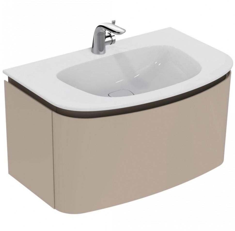 Тумба светло-коричневый глянец 100 см 1 ящик Ideal Standard Dea T7852S3