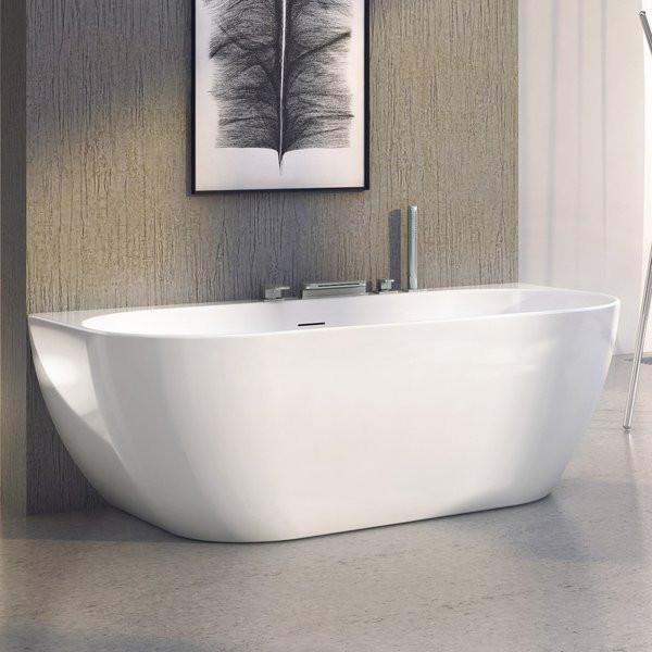 Акриловая ванна 166x80 см Ravak Freedom W XC00100024 акриловая ванна ravak freedom r 175х75