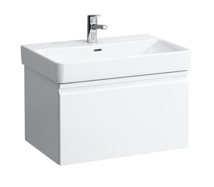 цены на Тумба белый матовый 66,5 см Laufen Pro S 4834520964631 в интернет-магазинах