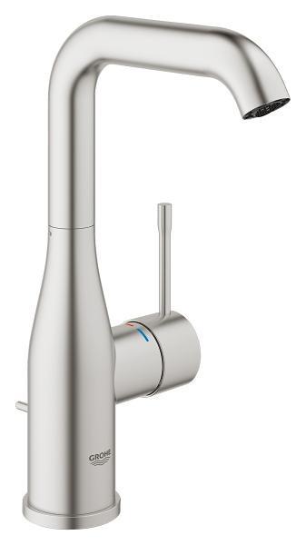 Смеситель однорычажный для раковины с донным клапаном L-Size Grohe Essence New 32628DC1 все цены