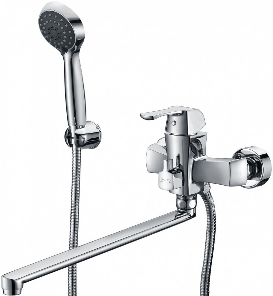 Смеситель для ванны Kaiser Boss 51055B смеситель для ванны коллекция boss 51055b однорычажный хром kaiser кайзер