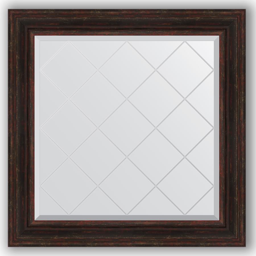 Зеркало 89х89 см темный прованс Evoform Exclusive-G BY 4334