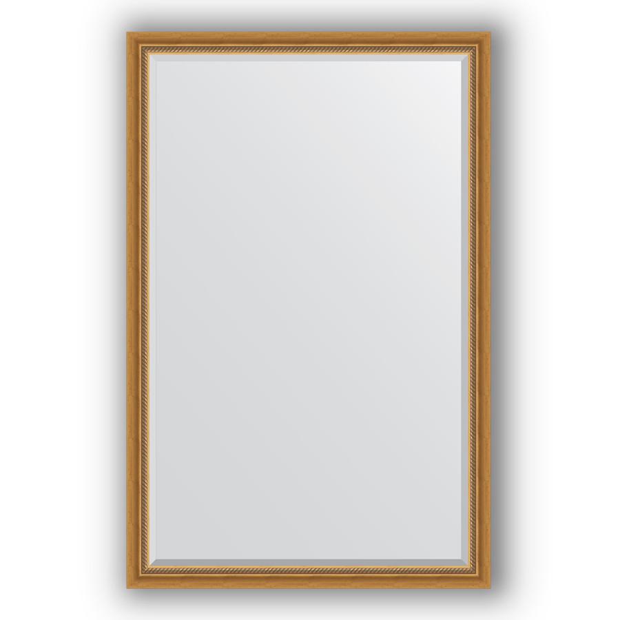 Зеркало 113х173 см состаренное золото с плетением Evoform Exclusive BY 3613