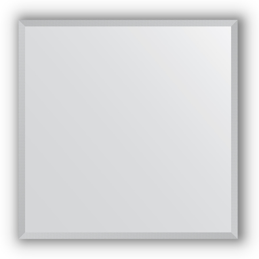 Зеркало 66х66 см сталь Evoform Definite BY 1019 зеркало 66х66 см орех evoform definite by 0784