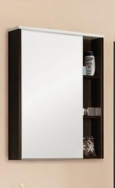 Зеркальный шкаф Крит 60 венге Aquaton 1A163202KT500 aquaton логика 110 венге белый