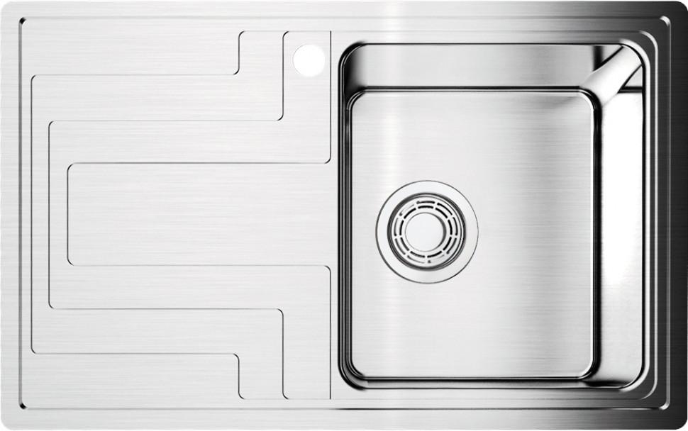 Кухонная мойка нержавеющая сталь Omoikiri Mizu 78-1-R omoikiri mizu 71 1 l