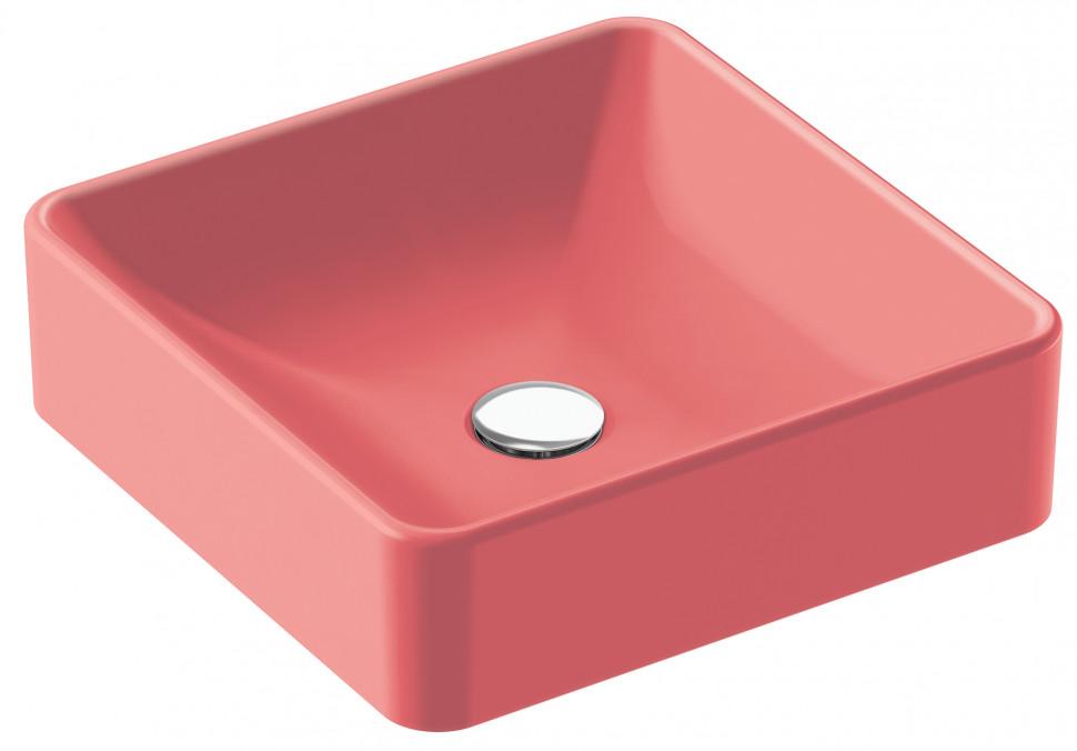 Раковина-чаша 40х40 см Jacob Delafon Vox розовый шелк EVG102-PN1