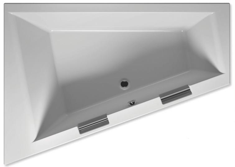 Акриловая ванна 180х130 см Riho Doppio R BA9000500000000 акриловая ванна riho doppio ba9000500000000 180x130
