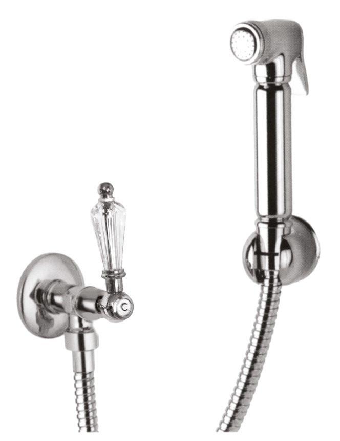Гигиенический набор хром, ручка Swarovski Cezares Diamond DIAMOND-KS-01-Sw стоимость