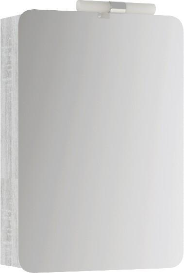 Фото - Зеркальный шкаф 50х70 см дуб седой Aqwella Alicante Alic.04.05/Gray пенал напольный универсальный дуб седой aqwella brig br 05 04 gray