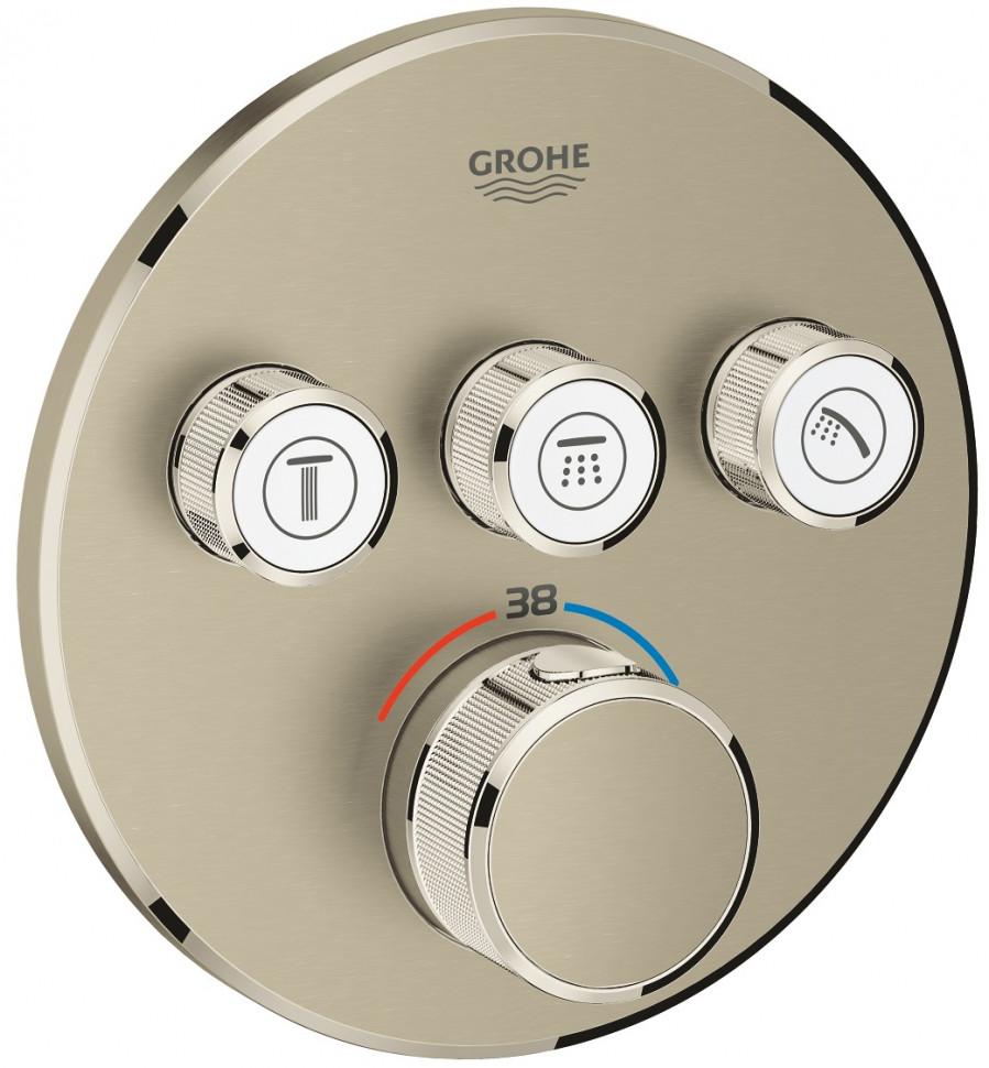 Термостат для встраиваемого монтажа на 3 выхода Grohe Grohtherm SmartControl 29121EN0 фото