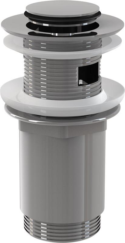 Донный клапан с переливом ClickClack AlcaPlast A391 цены