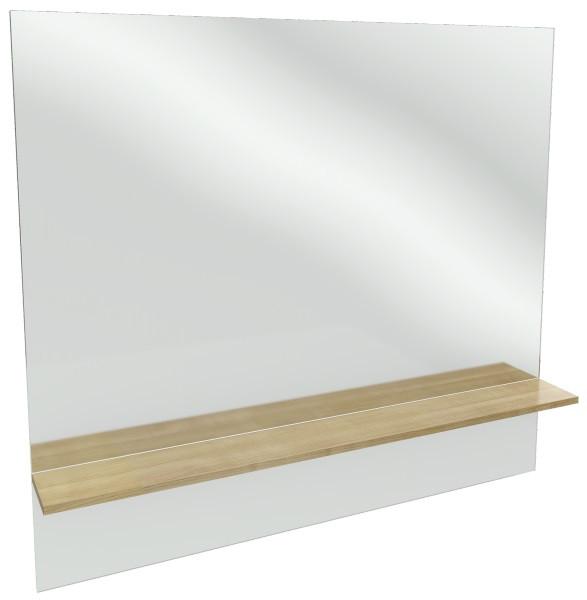 Зеркало с полкой белый 119*107,2 см Jacob Delafon Struktura EB1215-N18
