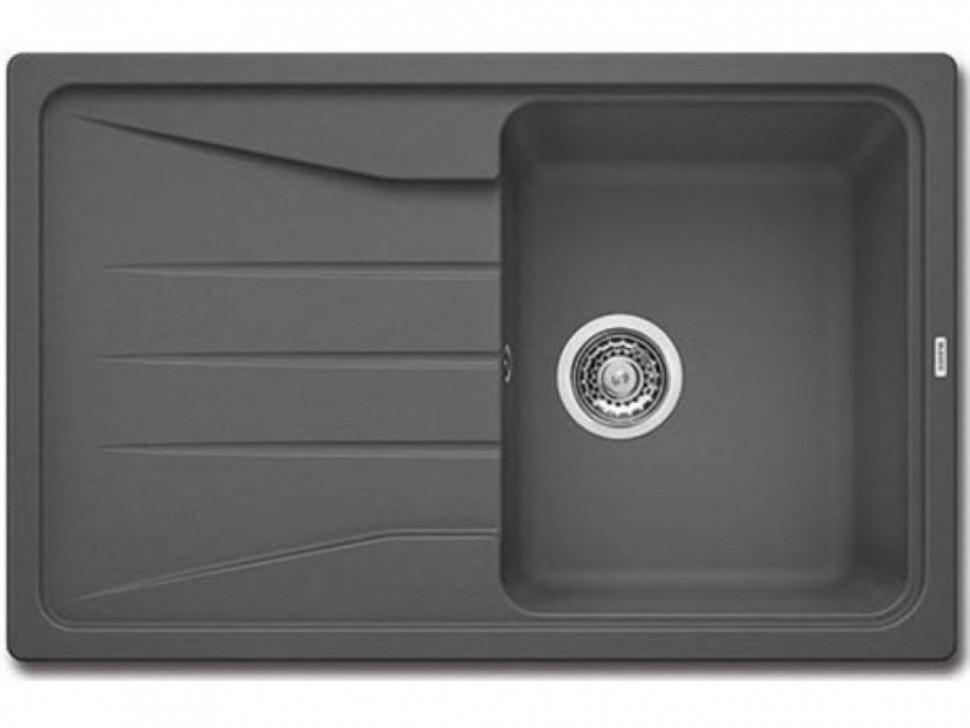 Кухонная мойка Blanco Sona 45S Темная скала 519663 кухонная мойка blanco sona 6s жемчужная