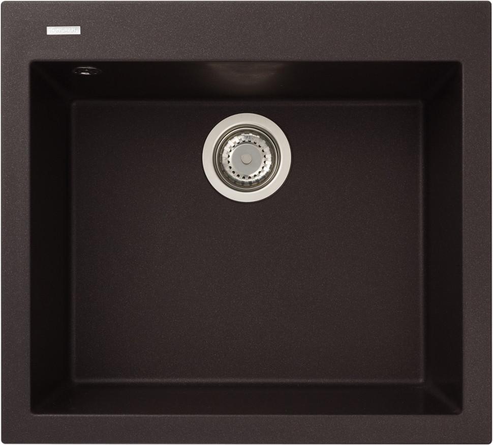 Кухонная мойка марон Longran Cube CUG560.500 - 93