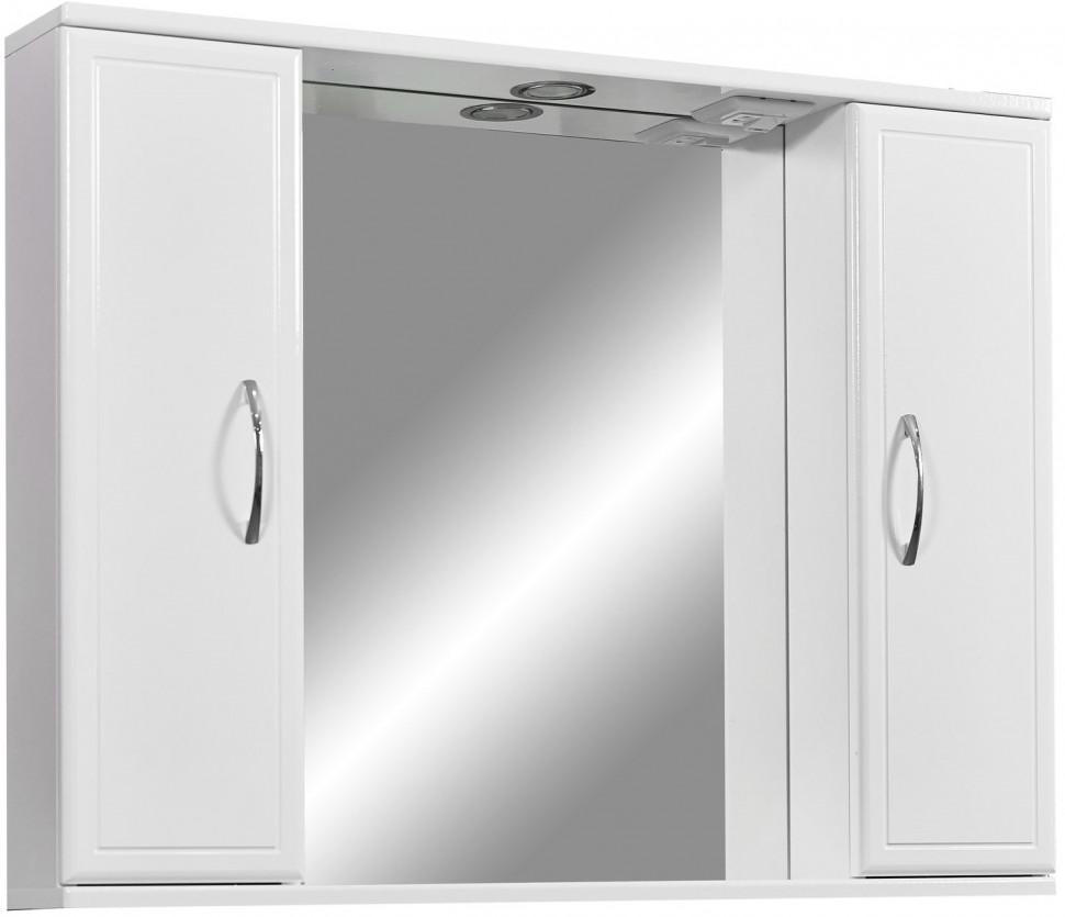Зеркальный шкаф 80х70 см белый глянец/белый матовый Stella Polar Концепт SP-00000059 stella cameron sihtmärk