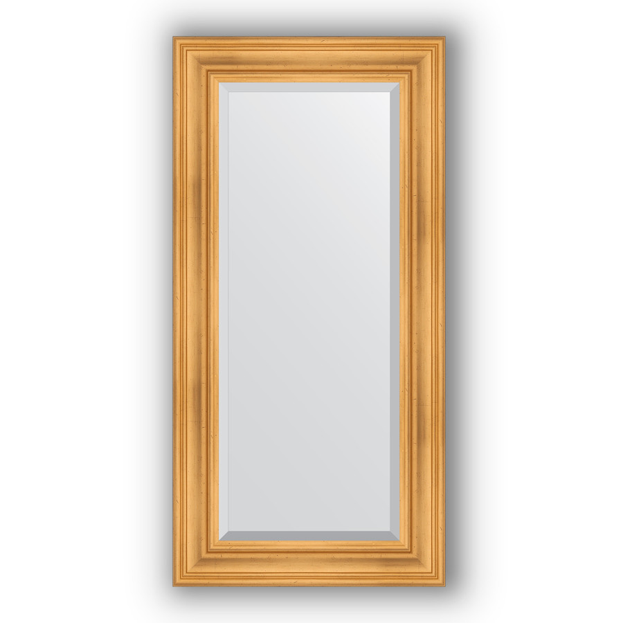 Зеркало 59х119 см травленое золото Evoform Exclusive BY 3496 зеркало evoform exclusive 176х116 травленое золото