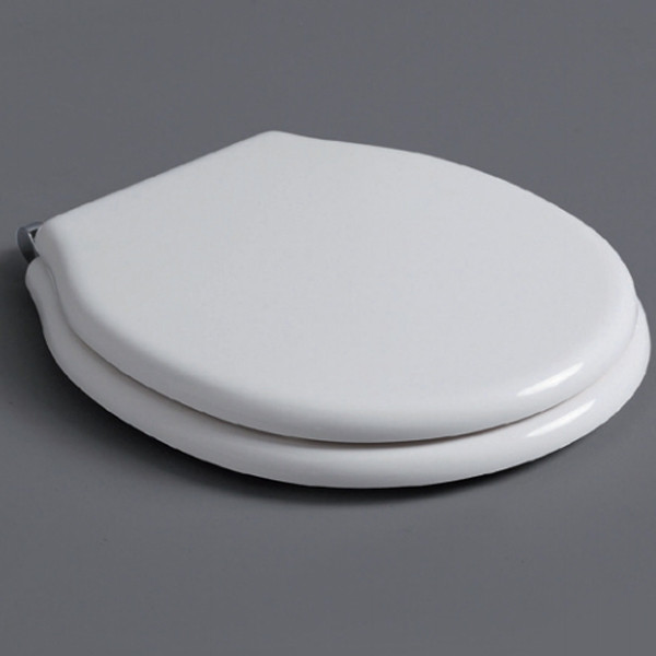 Сиденье для унитаза белый/хром Simas Londra LO002bi/cr недорого