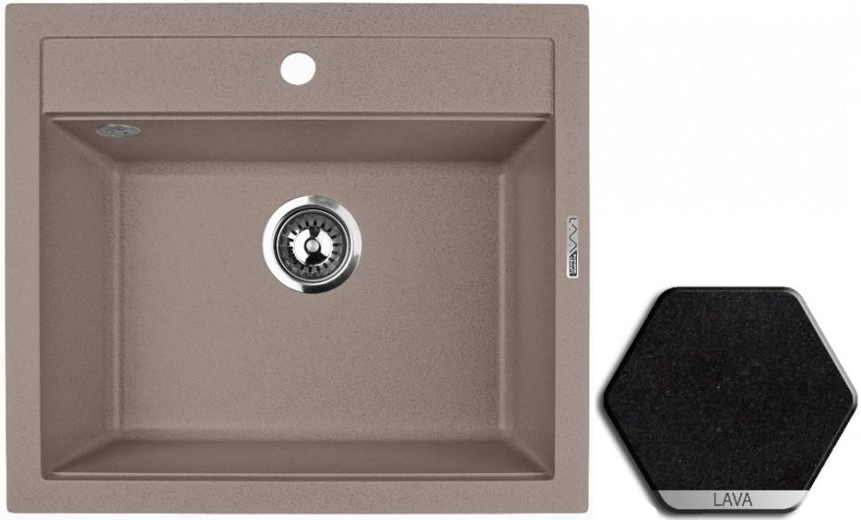 Кухонная мойка LAVA Lava Q2.LAV lava q2 серый q2 sca