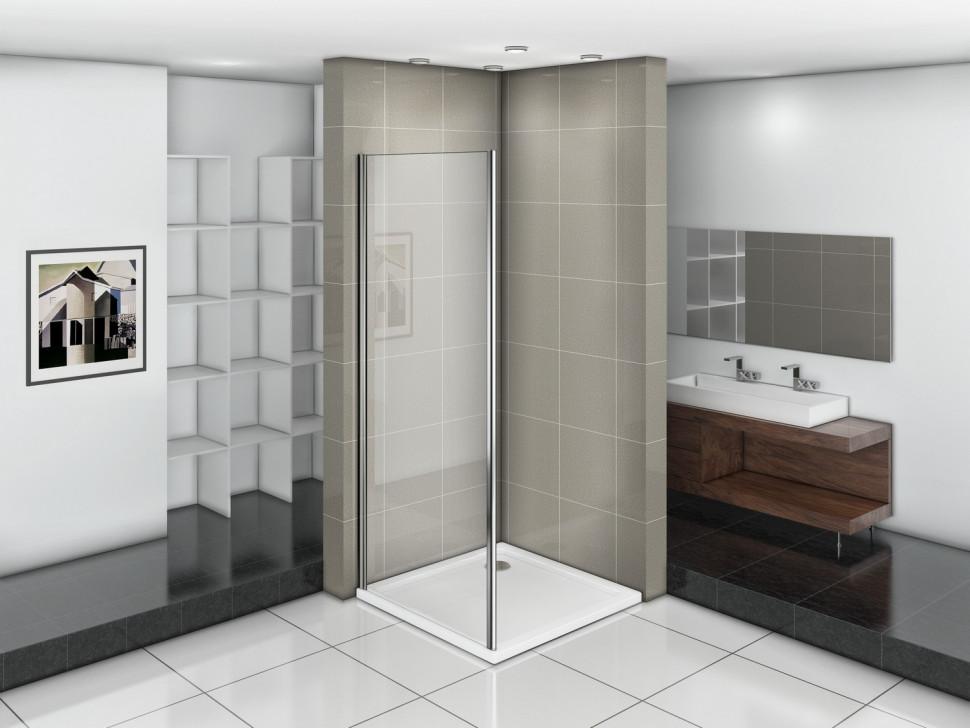 Боковая стенка 90 см Good Door Infinity SP-90-C-CH прозрачное