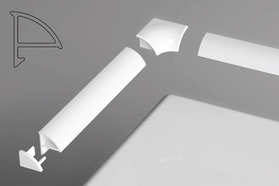 Универсальная декоративная планка 6/1100 Ravak XB441100001