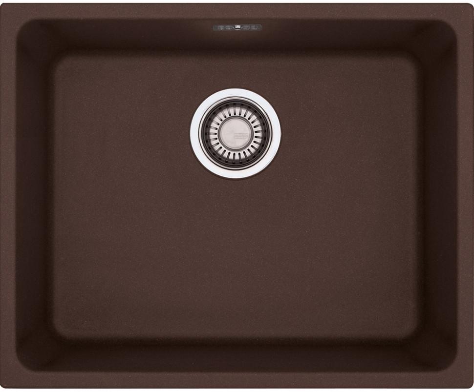 Кухонная мойка Franke Kubus KBG 210-53 шоколад 135.0339.250 цена 2017