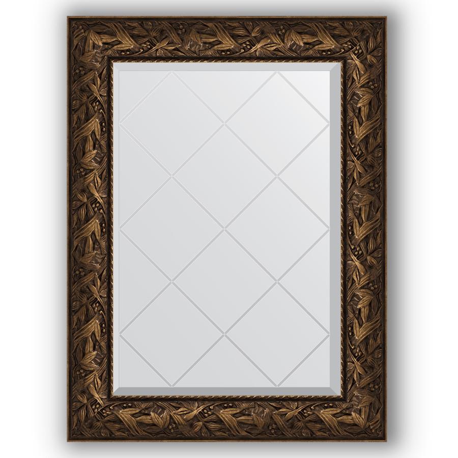 Зеркало 69х91 см византия бронза Evoform Exclusive-G BY 4115