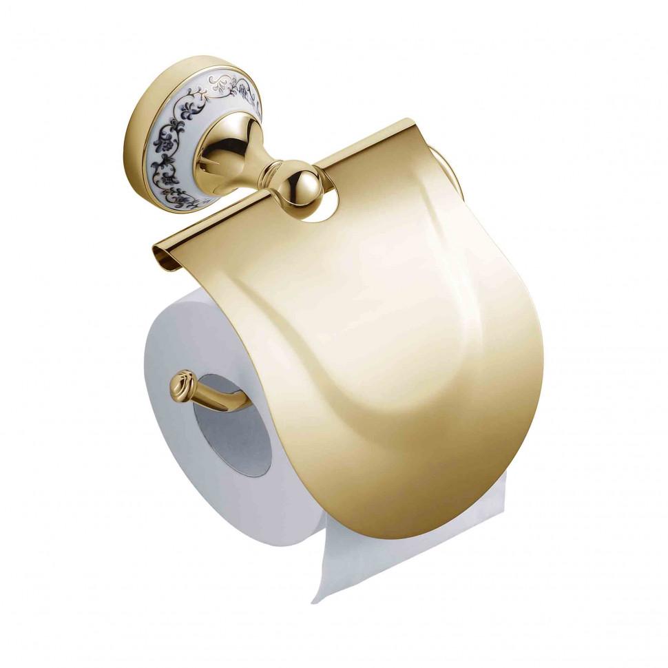 лучшая цена Держатель туалетной бумаги Schein Saine Gold 7053026VF