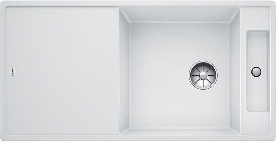 Кухонная мойка Blanco Axia III XL 6 S-F InFino белый 523529 кухонная мойка blanco axia iii xl 6 s f infino silgranit белый доска стекло 523529