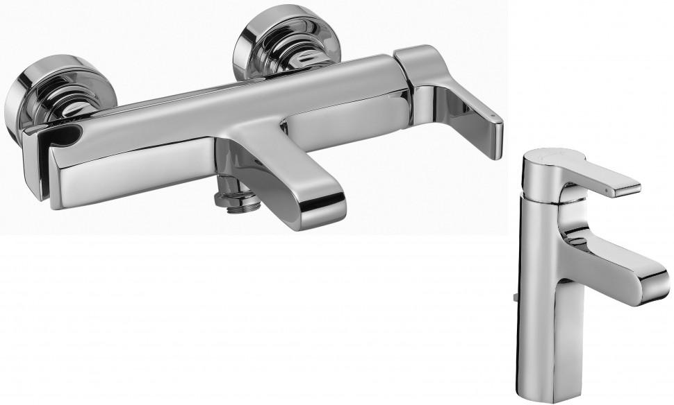 Комплект смесителей Jacob Delafon Singulier E10867-CP + E10860-CP стоимость