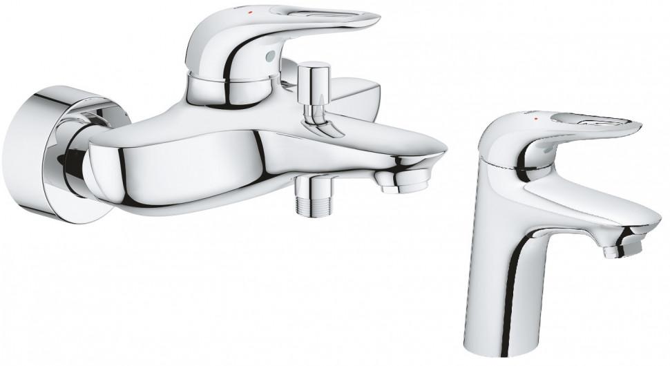 Комплект смесителей Grohe Eurostyle New 33591003 + 32468003