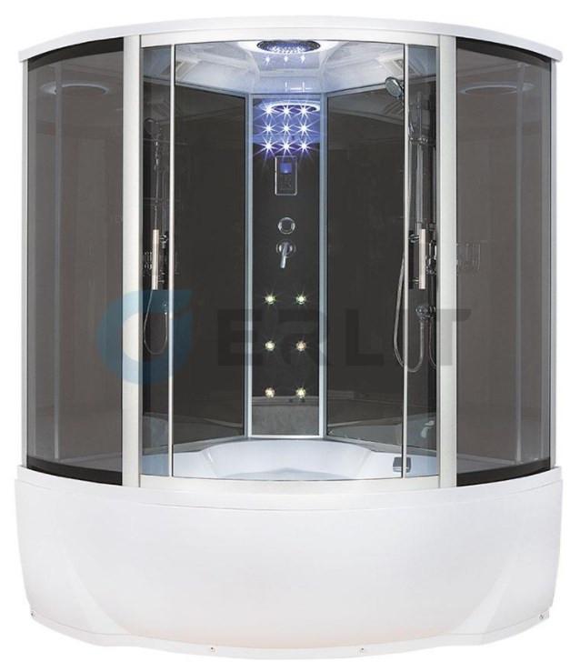 все цены на Душевая кабина 150×150×225 см Erlit Comfort ER4350T-C2 онлайн