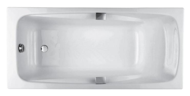 Чугунная ванна 180x85 Jacob Delafon Repos Е2903-00 ванна из искусственного камня jacob delafon elite 170x75 с щелевидным переливом e6d031 00 без гидромассажа