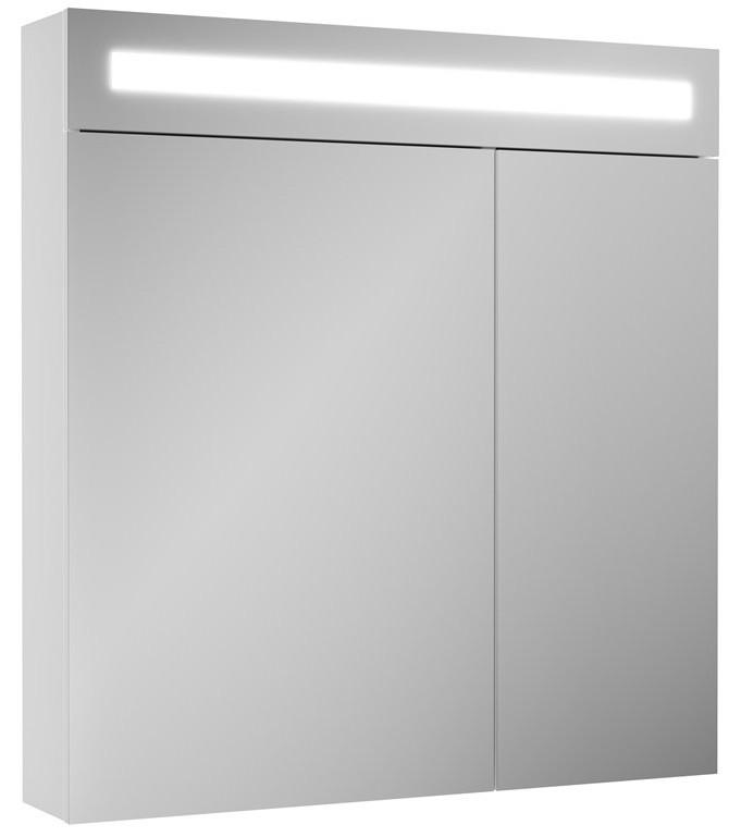 Зеркальный шкаф белый 70х80 см OWL 1975 Nyborg OW06.06.00