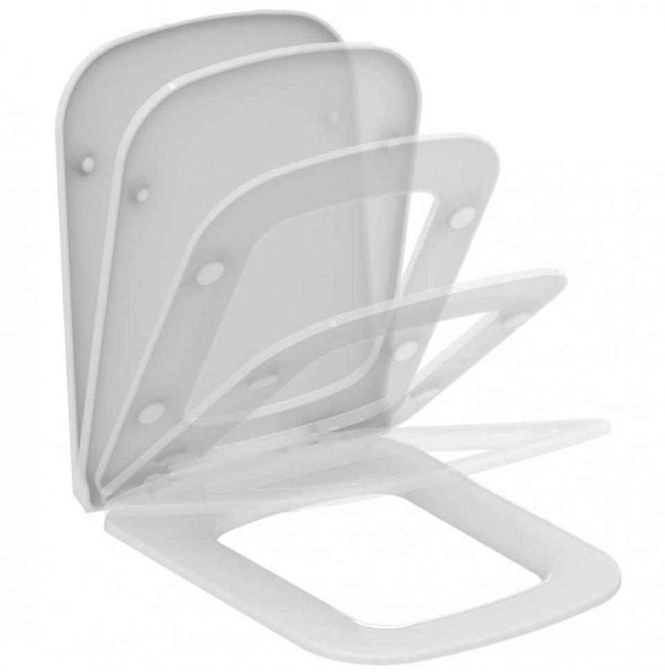 Крышка-сиденье с микролифтом Ideal Standard Strada J505801 ideal standard strada a5848aa a5848aa