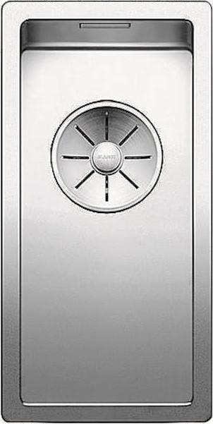 Кухонная мойка Blanco Claron 180-IF InFino зеркальная полированная сталь 521564 кухонная мойка blanco claron 500 if infino зеркальная полированная сталь 521576