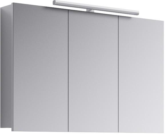 Зеркальный шкаф 100х65 см с подсветкой Aqwella 5 Stars Broadway Brw.04.10 зеркальный шкаф vigo mirella 80 с подсветкой белый