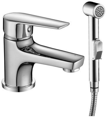 цена на Смеситель для раковины с гигиеническим душем Rossinka S S35-15