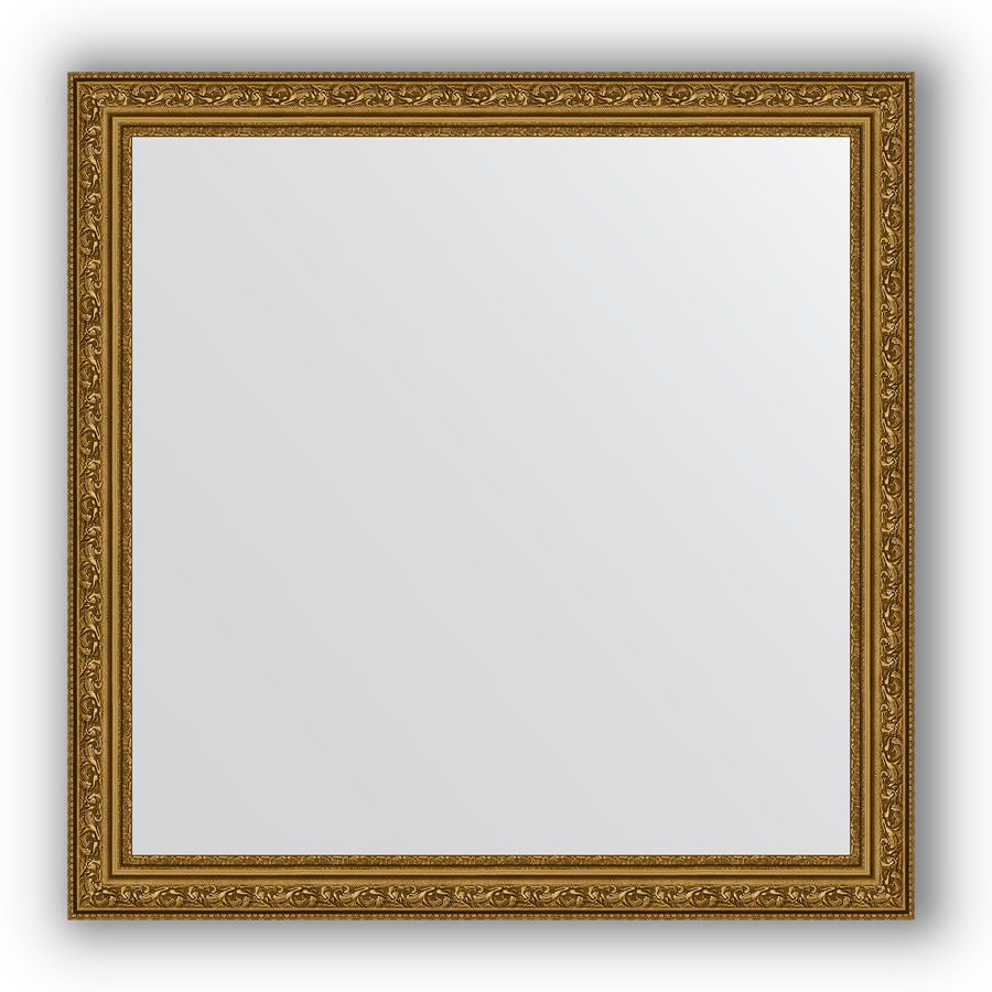 Фото - Зеркало 74х74 см виньетка состаренное золото Evoform Definite BY 3231 зеркало 64х114 см виньетка состаренное серебро evoform definite by 3200